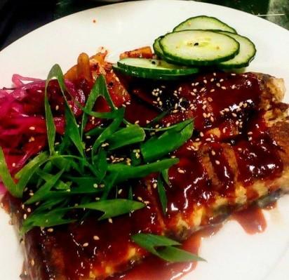 Korean ribs at Kitchen 154