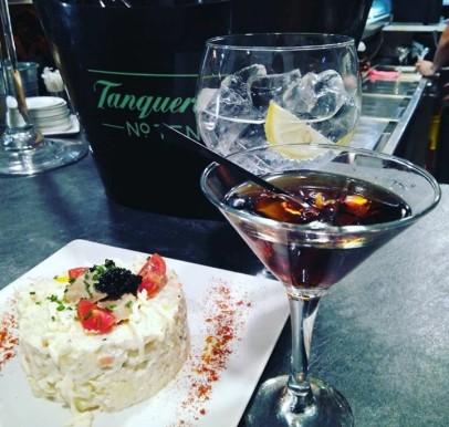 Ensaladilla rusa & Gin Vermú